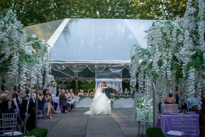 The Clearing Tent Wedding